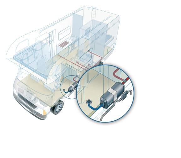 monteringsanvisning webasto bensinvärmare